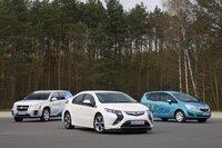 Opel Meriva EV, Opel Ampera y GM HydroGen4, toma de contacto en Alemania