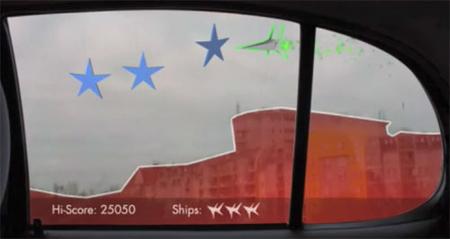 'Carcade': Un videojuego en la ventana de tu coche