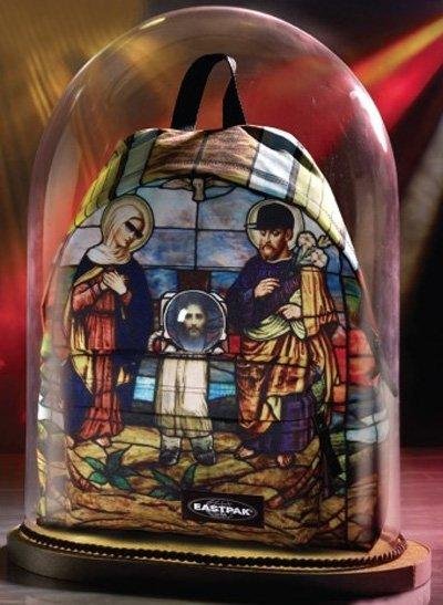 Eastpack monta el Belén en una mochila edición limitada