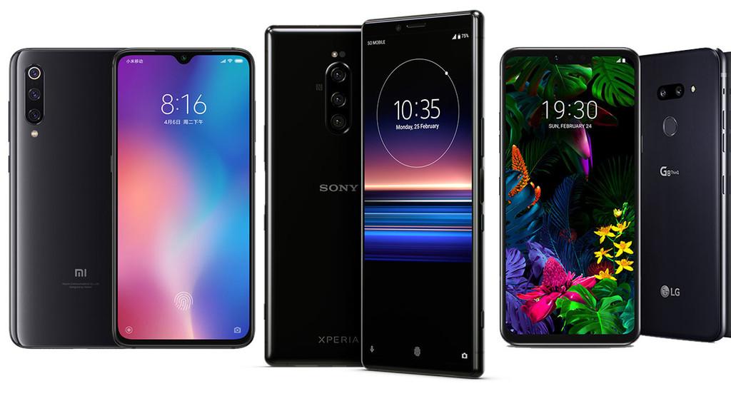 Sony Xperia(móvil) 1, comparativa: así queda contra Galaxy℗ S10, Xiaomi℗ Mi 9, Mate 20 Pro, Pixel 3 XL y resto de gama alta de Android
