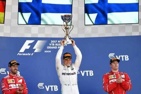 Bottas Rusia F1 2017