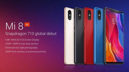 Flash Deal: Xiaomi Mi8 SE, con 6GB de RAM y 64GB de almacenamiento, por sólo 242 euros