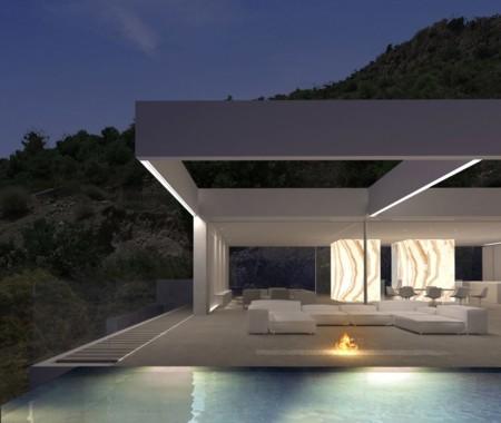 Terraza Casa Lujo