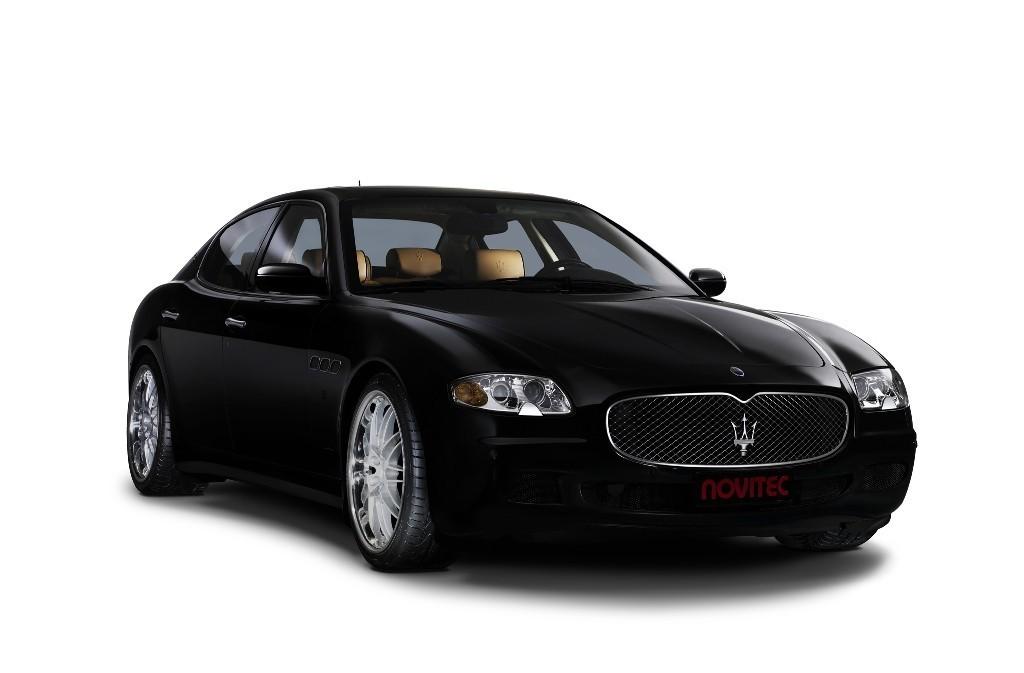 Foto de Maserati Quattroporte by Novitec (1/5)