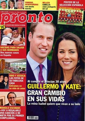 El kiosko de poprosa portadas y m s portadas de revistas for Revista pronto primicias ya
