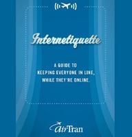AirTran presentó su guía del buen uso de internet a bordo