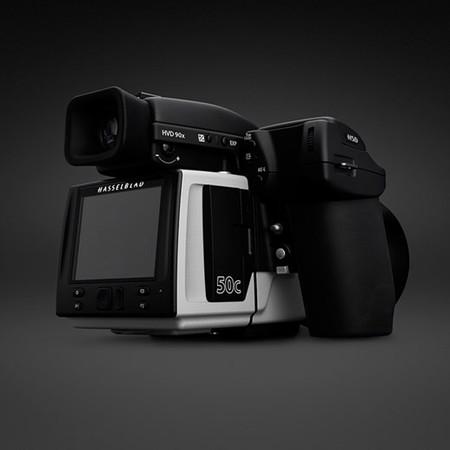 Hasselblad H5D-50c, formato medio de 50 Megapíxeles pero sensor CMOS