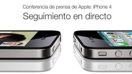 Seguimiento de la rueda de prensa de Apple acerca del iPhone 4, esta tarde a las 19 horas