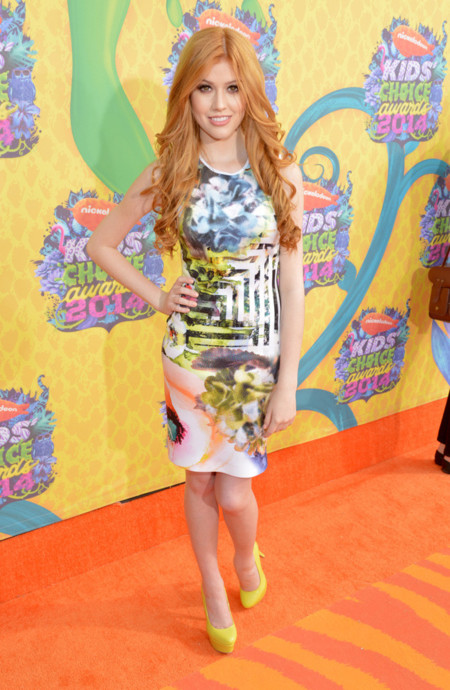 Katherine McNamara Kids Choice Awards mejor vestidas