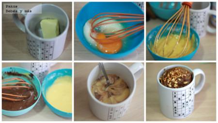 Mug Cakes Bicolor Vainilla Chocolate