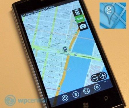 GMaps para WP7 ya está disponible en el Marketplace