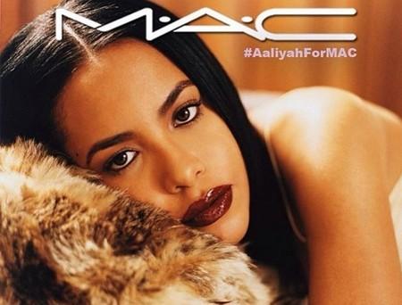 MAC anuncia su nueva colaboración de espíritu noventero: Aaliyah es la inspiración