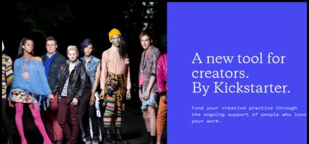 Kickstarter lanza su primer producto nuevo en años, y es básicamente igual a Patreon