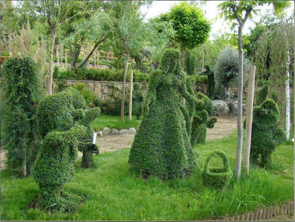 Un lugar m gico para perderse en la sierra oeste de madrid for El jardin encantado madrid