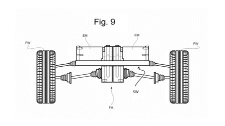 Electric Ferrari Patent Documents Eje