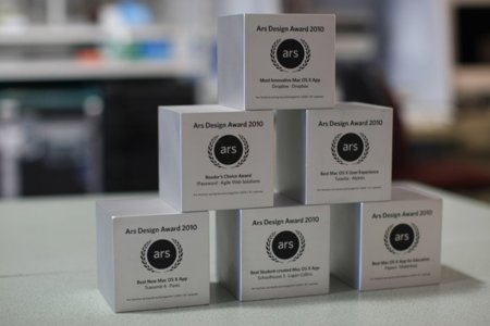 Ya tenemos los ganadores de los Ars Design Awards 2010