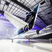 Así es la nueva nave espacial para turistas de Virgin Galactic: VSS Unity
