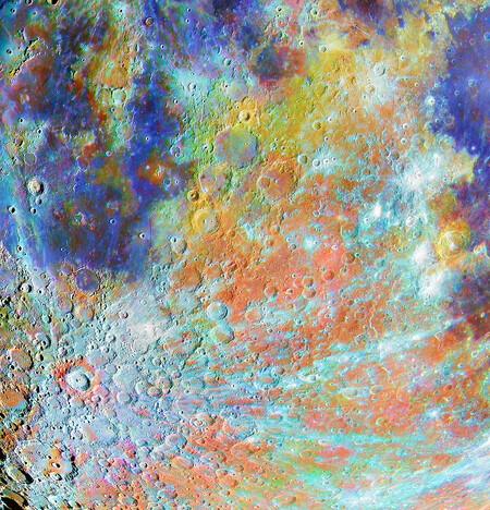 Om 40753 11 Ganador de la región del cráter Tycho con los colores C Alain Paillou