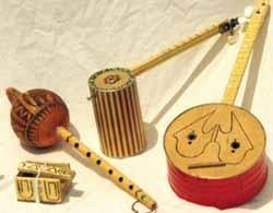 Fabricar instrumentos musicales caseros