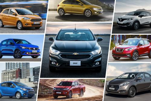 Los 50 autos más vendidos en Latinoamérica durante la primera mitad de 2018