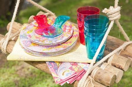 Alegre y colorista colección para picnic de Zara Home