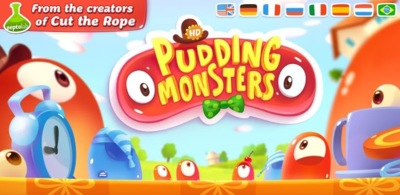 Pudding Monsters, ya disponible para Android lo nuevo de los creadores de Cut the Rope