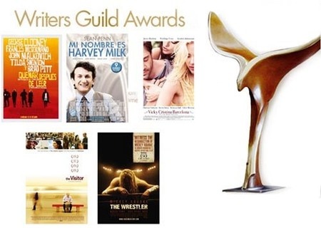 Nominados a los Writers Guild Awards 2009