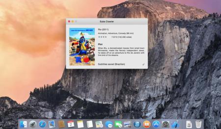 Subs Crawler, otra alternativa para poder descargar subtítulos automáticamente en el Mac