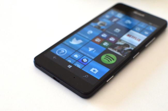 Lumia 950 Acabado