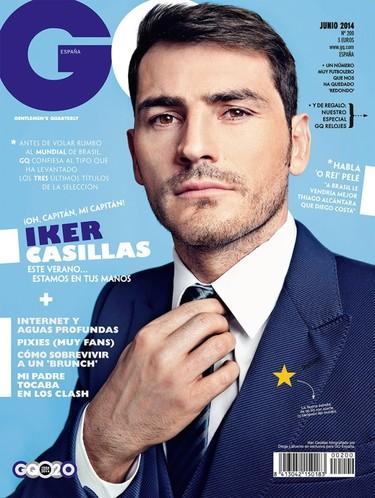 ¡Oh capitán, mi capitán! Iker Casillas, portada de GQ España