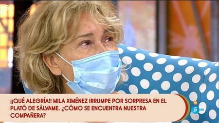 Mila Ximenez En Su Reaparicion En Salvame
