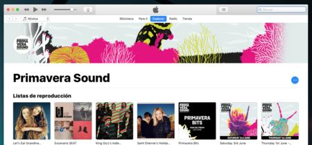 Apple crea un espacio para el Primavera Sound de Barcelona en Apple Music