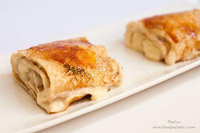 Receta de crêpes con crema catalana