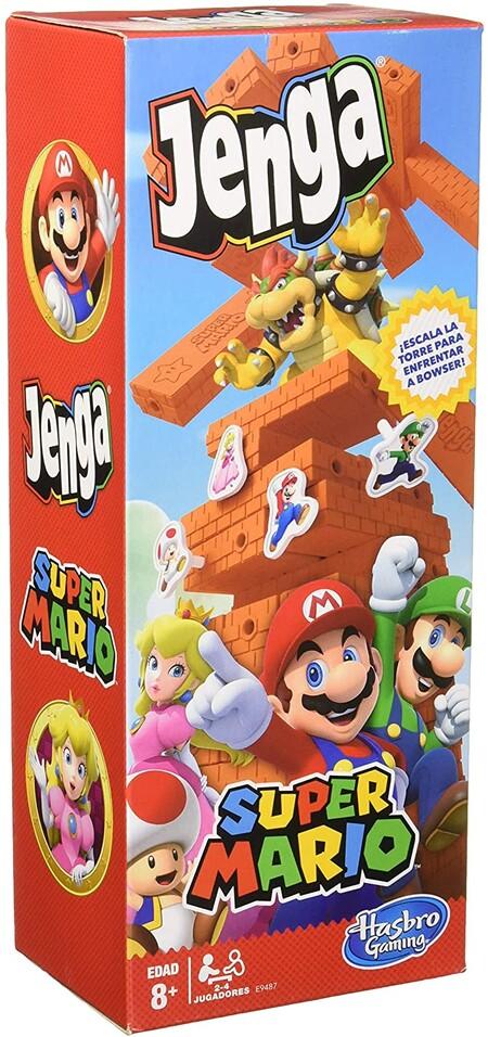 Jenga de Super Mario Bros. disponible en Amazon México
