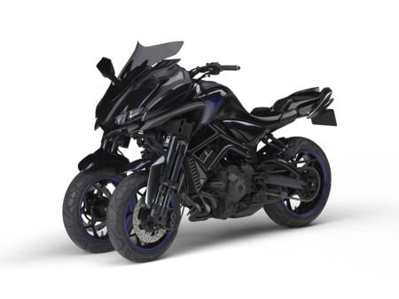 Yamaha LMW MWT-9 ¿el futuro pasa por las tres ruedas?