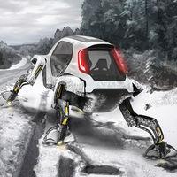 Cuatro patas para sortearlos a todos: así entiende Hyundai el coche de rescate del futuro
