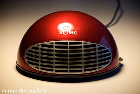 Calefactor Solac TH8310. Lo probamos