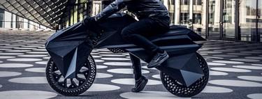 Chasis, llantas, neumáticos... Esta es la primera moto eléctrica totalmente fabricada con impresión 3D