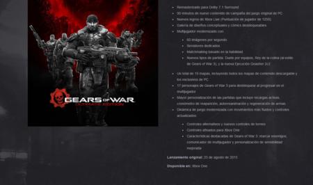 Gears Of War Ultimate