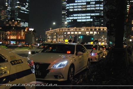 Toyota Crown Hybrid Taxi