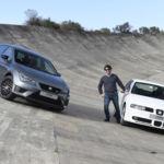 El primer SEAT León Cupra en el Autódromo de Terramar. ¿Te vienes a dar una vuelta al pasado?