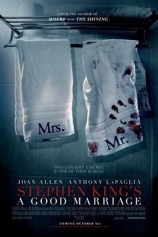 'Un buen matrimonio', tráiler y cartel de la adaptación de Stephen King