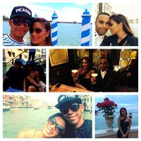 Nicole Scherzinger y Lewis Hamilton, ¡seis añitos juntos!