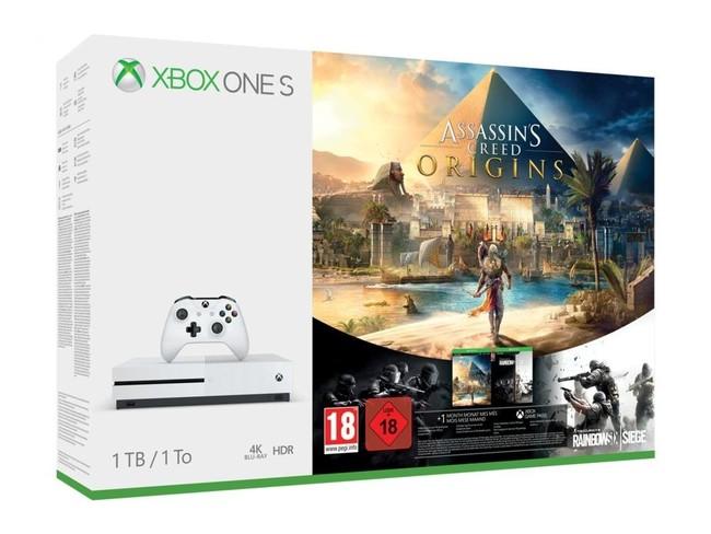 Consola Xbox One S más juego de oferta