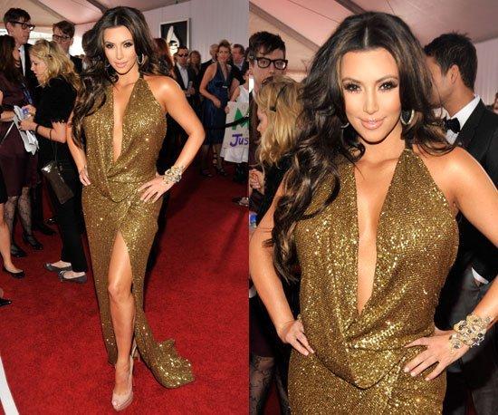 kim kardashian gammy 2011