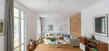 Puertas abiertas: Un apartamento barcelonés aprovechado al máximo