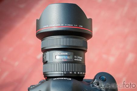 Canon EF 11-24mm f/4 L USM, toma de contacto