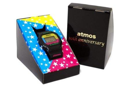 Atmos celebra su décimo aniversario con una edición especial del reloj Casio