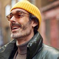 Richard Biedul triunfa en la semana de la moda de Londres como el hombre con más estilo