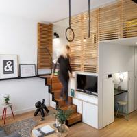 Micro apartamento Zoku Loft, todo lo que necesitas en 24 metros cuadrados